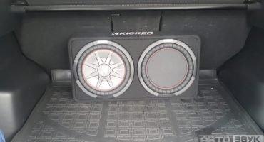Установка автозвука на MAZDA CX-5 в Сочи