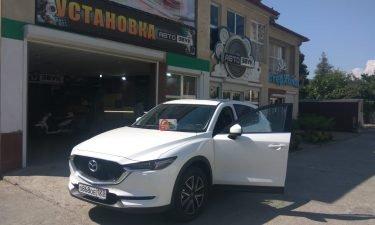 Установка автосигнализации на Mazda