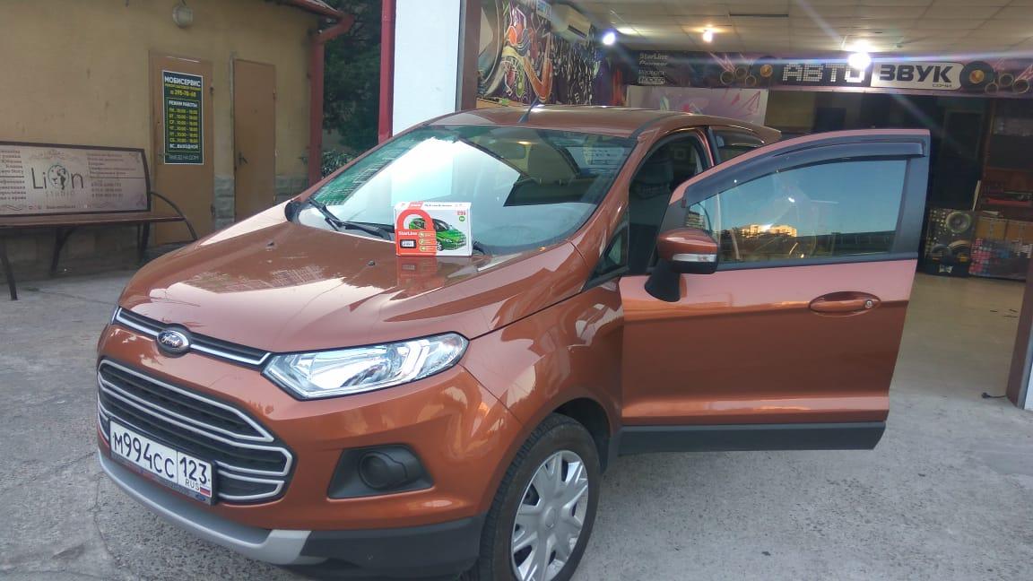 Установка автосигнализации на Ford