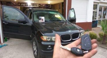Установка автосигнализации на BMW