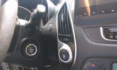 Установка кнопки запуска двигателя