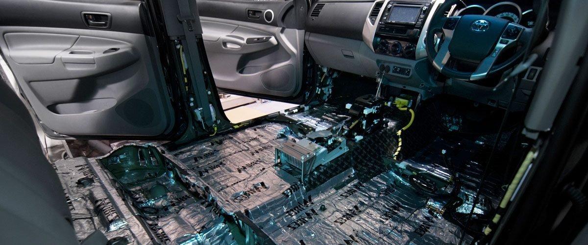 шумоизоляция авто в Сочи