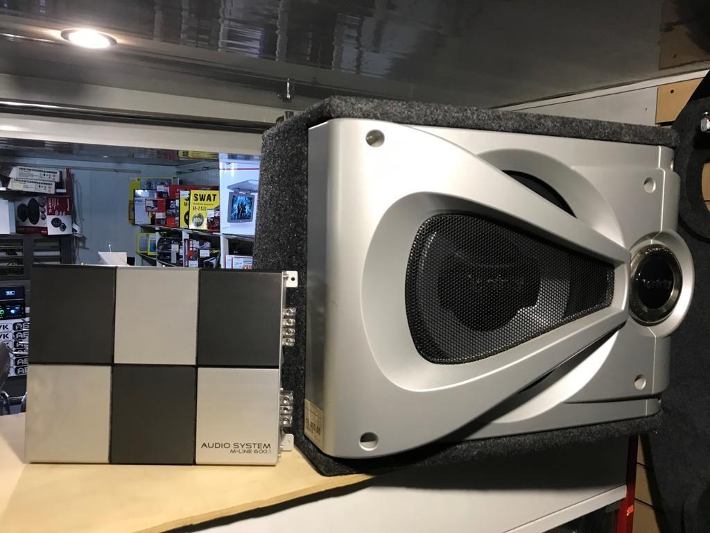 моноблок Audiosystem M-line 600.1 и корпусной сабвуфер Infinity REF-1240SE