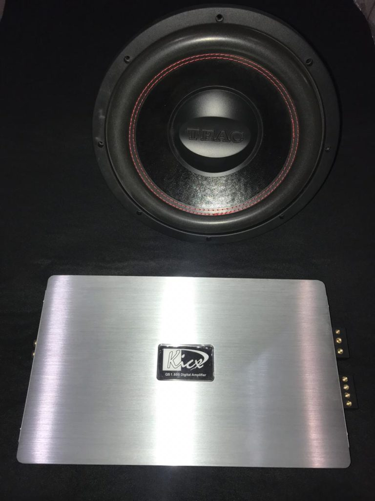 Сабвуфер Teac TE-FW12 и Моноблок Kicx QS 1.600